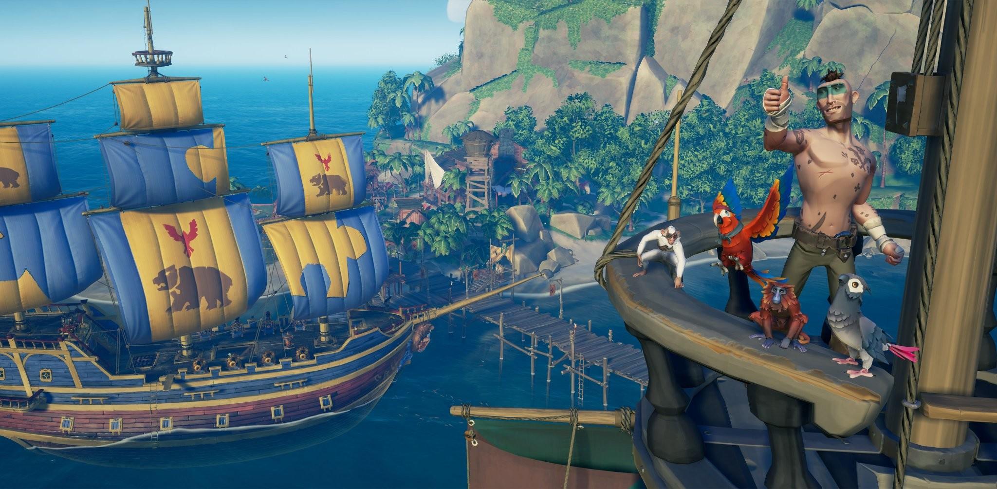 Sea of Thieves Smuggler's Fortune actualiza los aires con mascotas que se pueden comprar y más 2