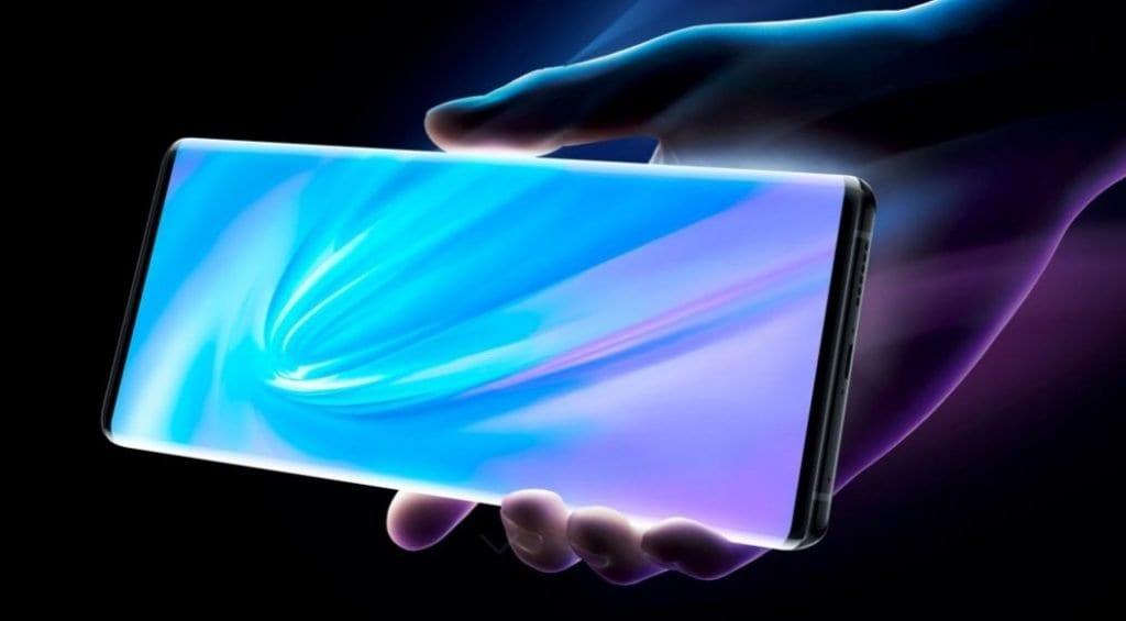Vivo NEX 3 5G прикажува каскаден екран