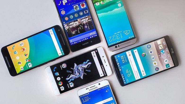 Androidpit UI qəhrəman müqayisəsi