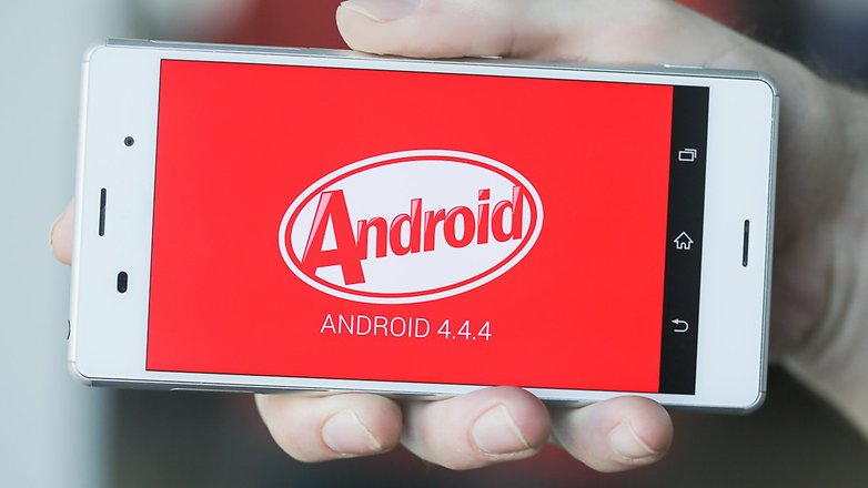 AndroidPIT Sony Xperia Z3 Android KitKat