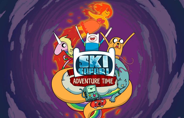 Ski Safari: Adventure Time para iPhone y iPad, obtén un código promocional GRATIS 3