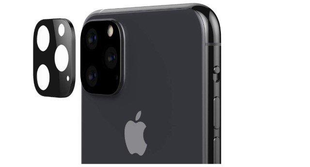3. Nắp ống kính máy ảnh Feitenn cho iPhone 11 Pro và 11 Pro Max