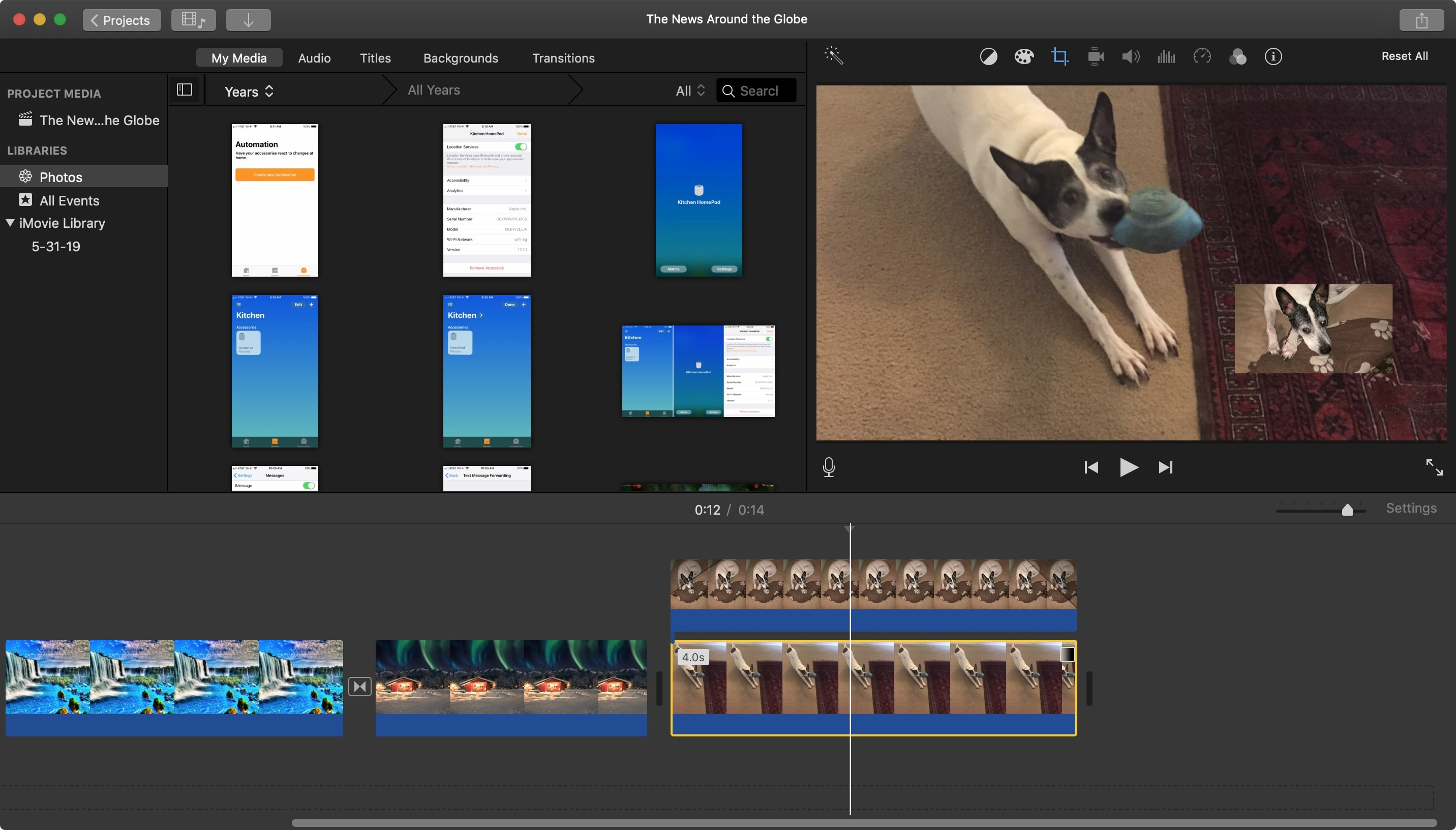 IMovie Images on Mac Images