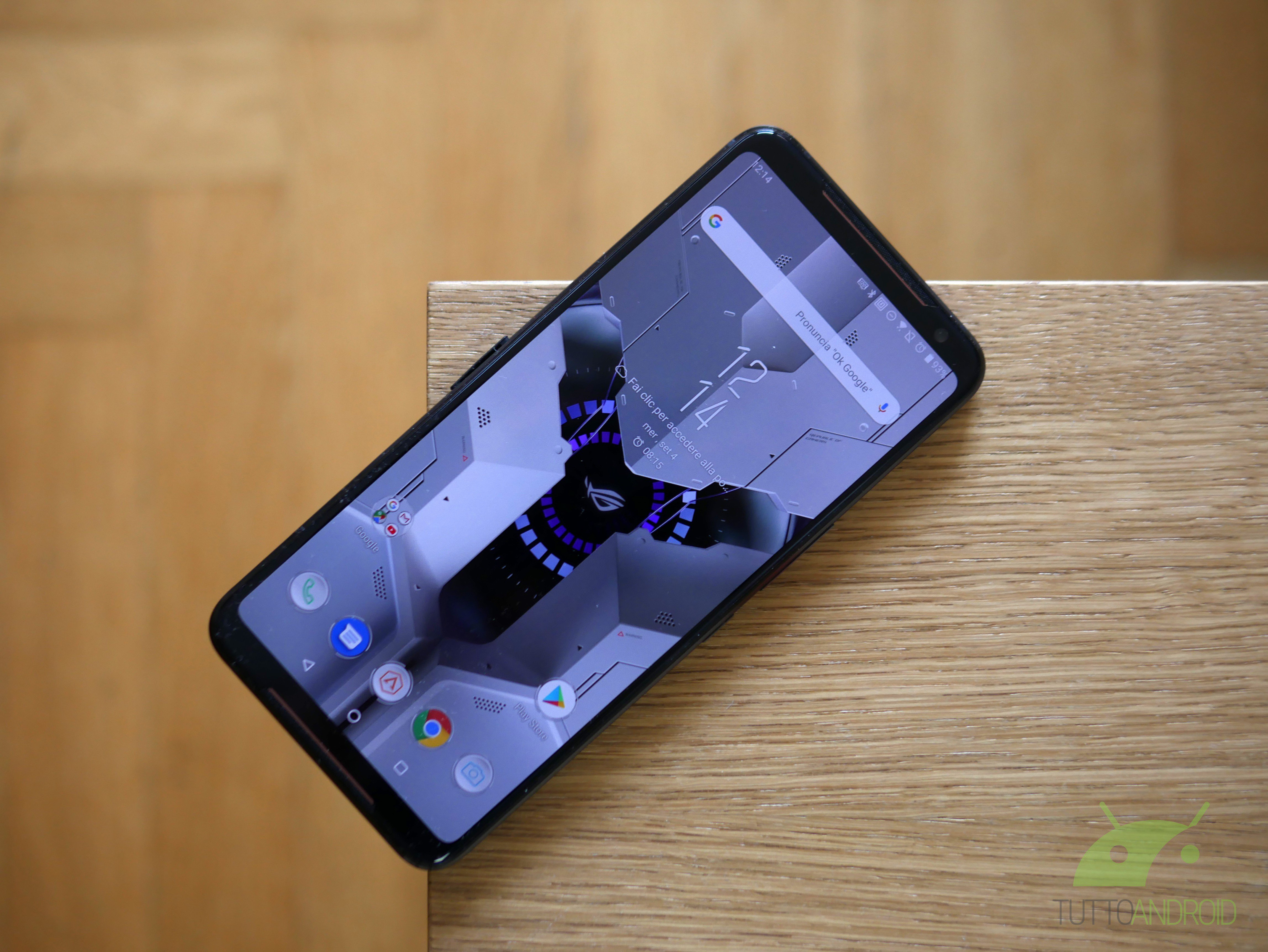 Tinjau ASUS ROG Phone 2: teknik dan substansi membuatnya mendominasi 8