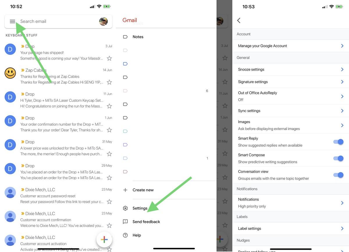 Ako blokovať načítanie obrázkov v Gmaile 2