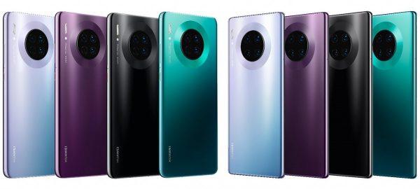 Huawei Mate 30 veröffentlicht