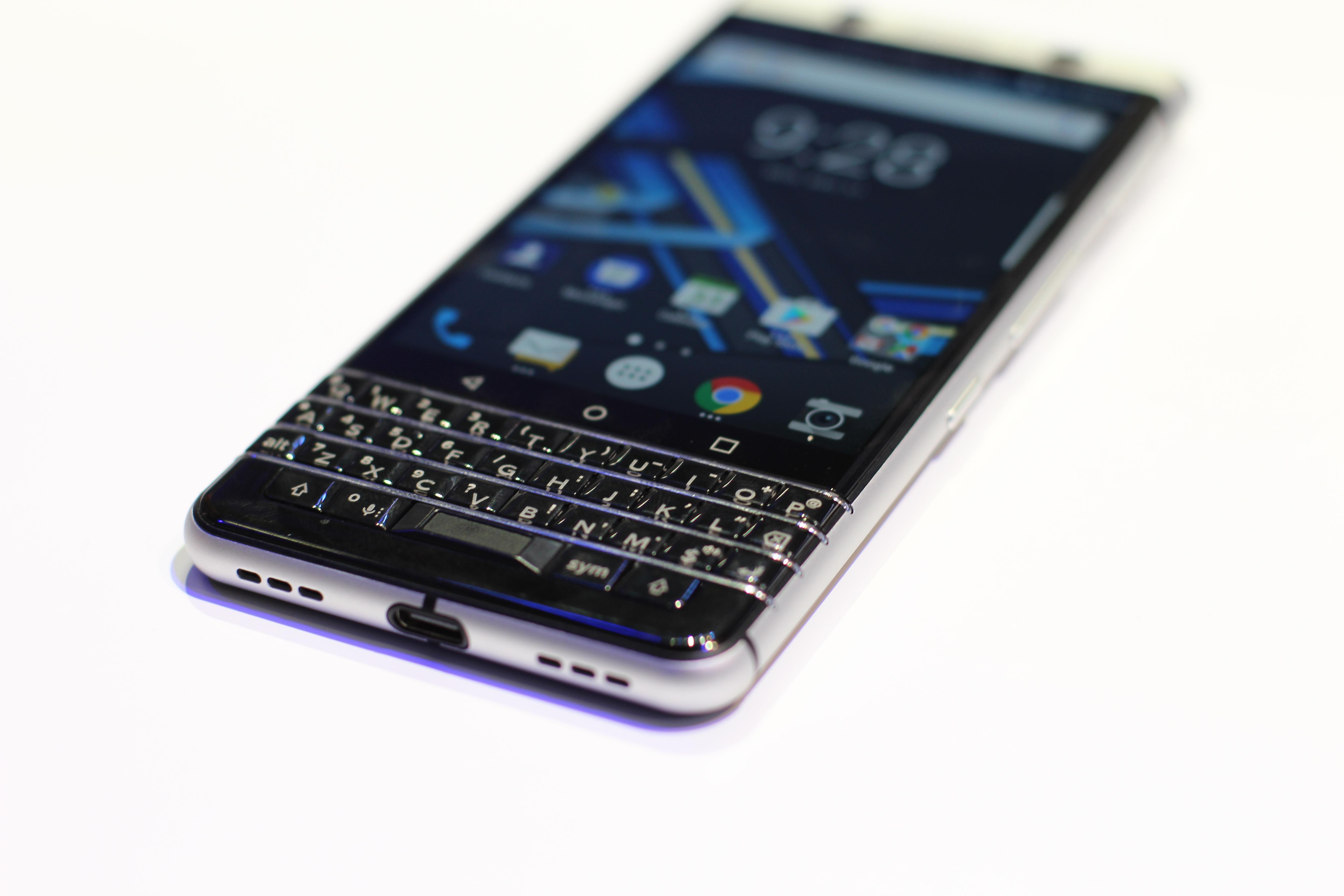 BlackBerry Mercury, tayangan pertama kami # CES2017 3