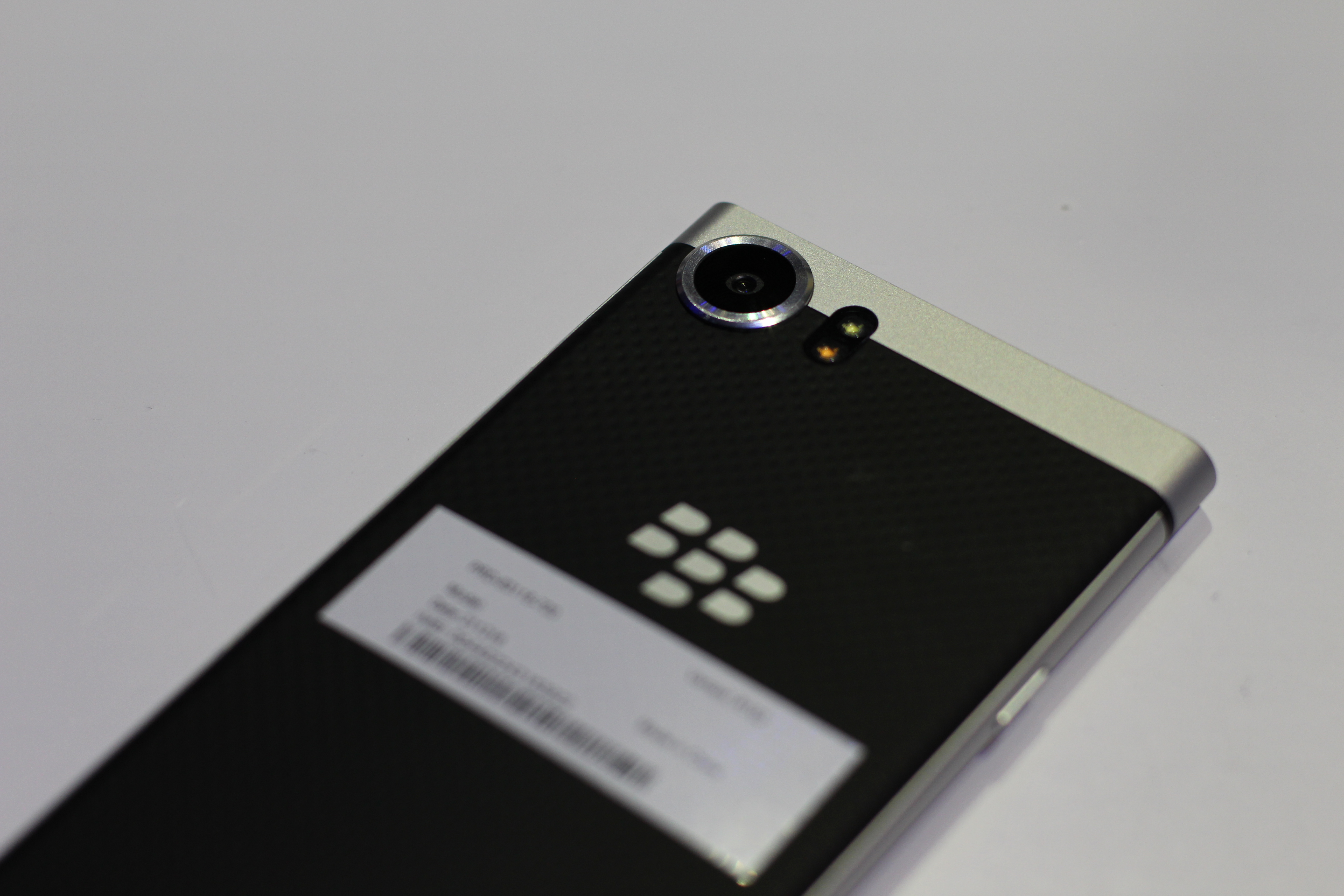 BlackBerry Mercury, tayangan pertama kami # CES2017 4