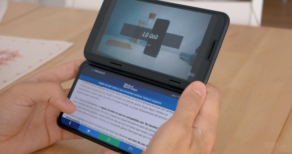 LG V50 ThinQ, nəzərdən keçirin: bəyənmək üçün ən yaxşısı olmaq lazım deyil 8