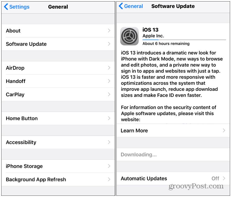 Cómo actualizar tu iPhone a iOS 13 2
