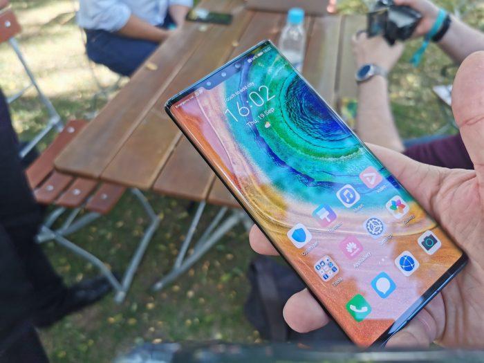 Hình ảnh trực tiếp: trực tiếp với Huawei Mate 30 và Mate 30 mới ... 1