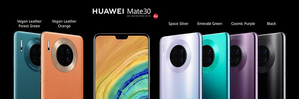 Huawei ја лансира серијата на паметни телефони 30 Mate 5