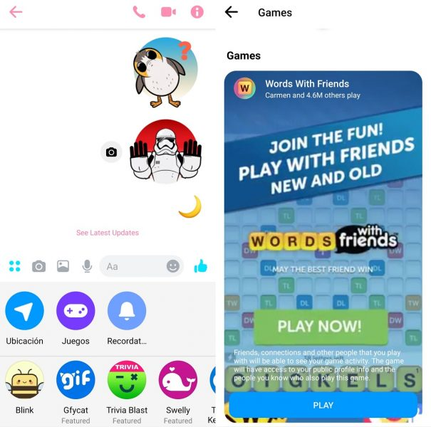 Game dan Messenger
