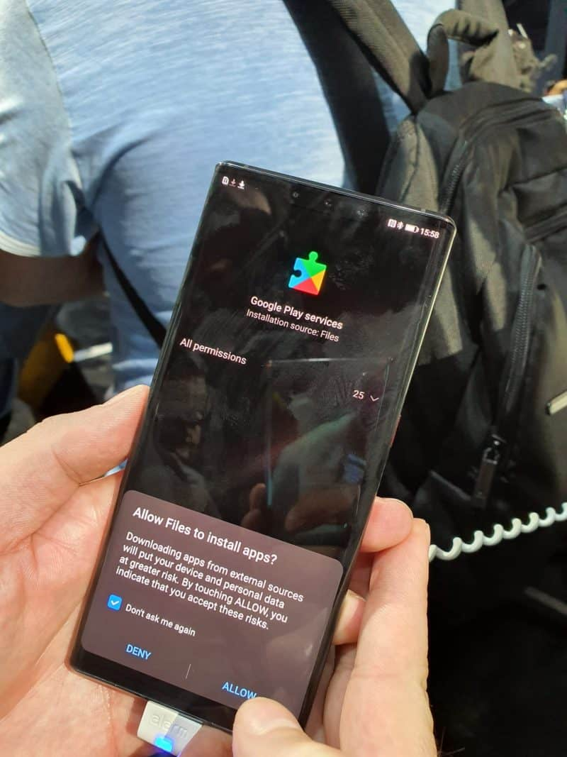 (Específicamente) Google ha dejado Huawei, ¡pero Huawei no ha dejado Google! 2