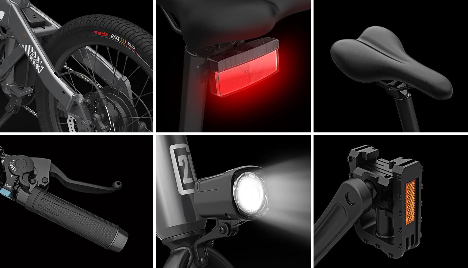Xiaomi Himo C20 adalah sepeda listrik dengan jangkauan 80 ...