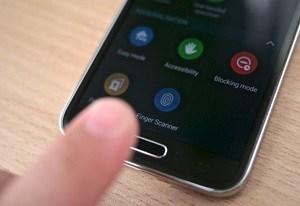 escáner de dedo s5
