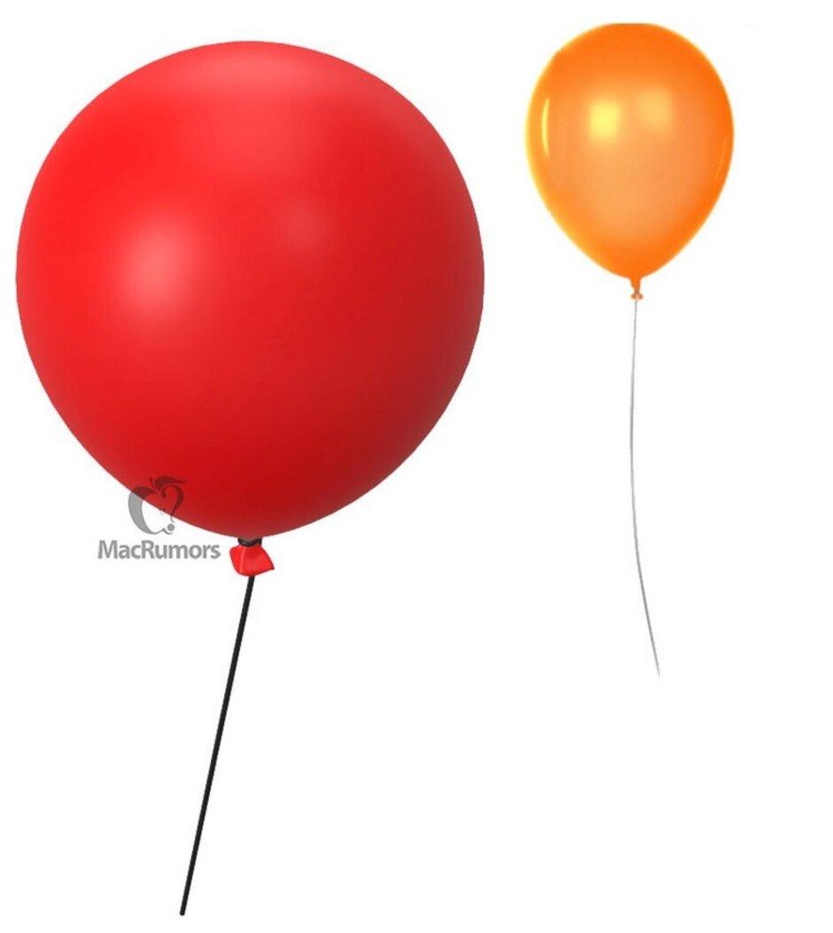 Qırmızı 3D Balonları və Narıncı 2D Balonlar sizə əlavə edilmiş əşyaları tapmağa kömək edə bilər Apple Etiket - həyat! Apple Keçən həftə ortaya çıxan bir uğursuzluq əlaməti, aksessuarın öldüyünü ifadə etmir