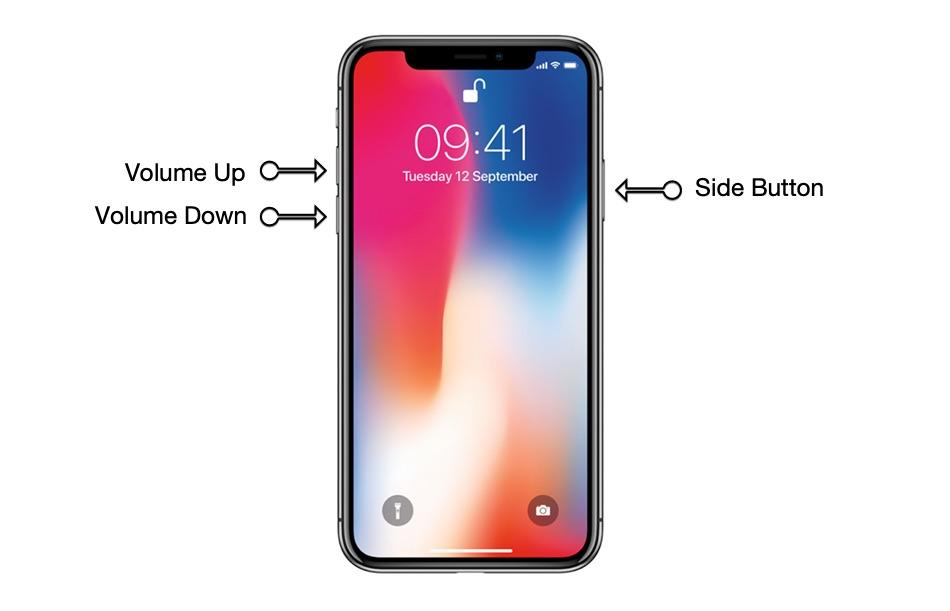 Tắt iPhone 11 Pro