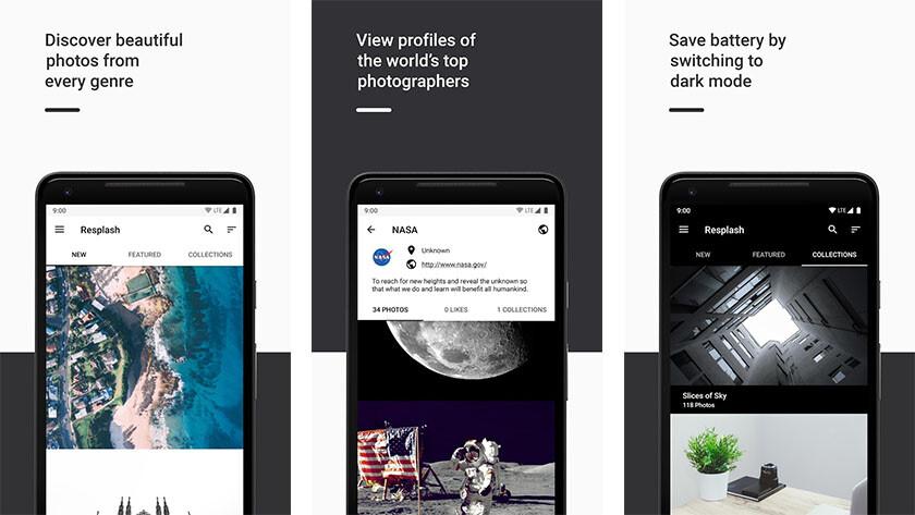 "Resplash: the best photography wallpaper app ""width ="" 840 ""height ="" 473"