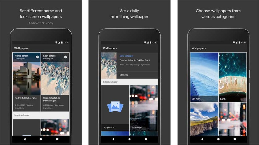 """Google Wallpaper - one of the best photography wallpaper apps for Android """"width ="""" 840 """"height ="""" 472"""