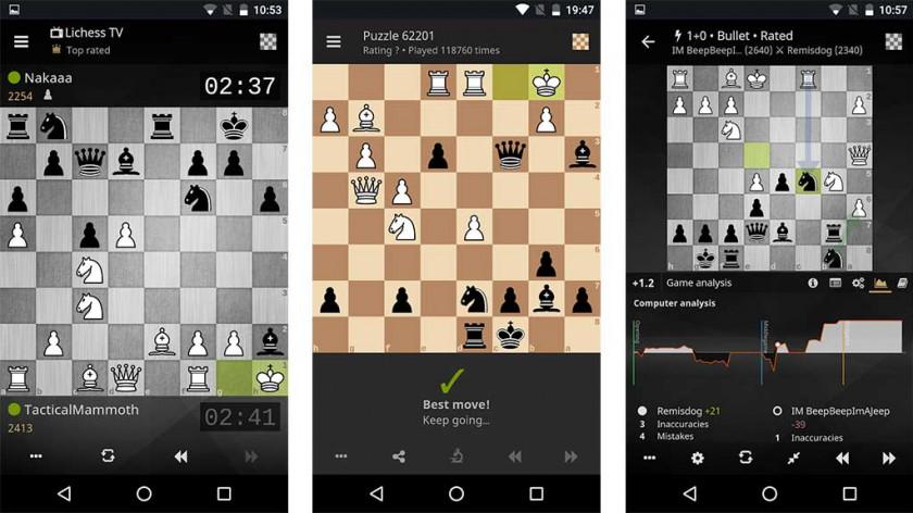 """Lichess - le meilleur jeu d'échecs pour Android """"width ="""" 840 """"height ="""" 472"""