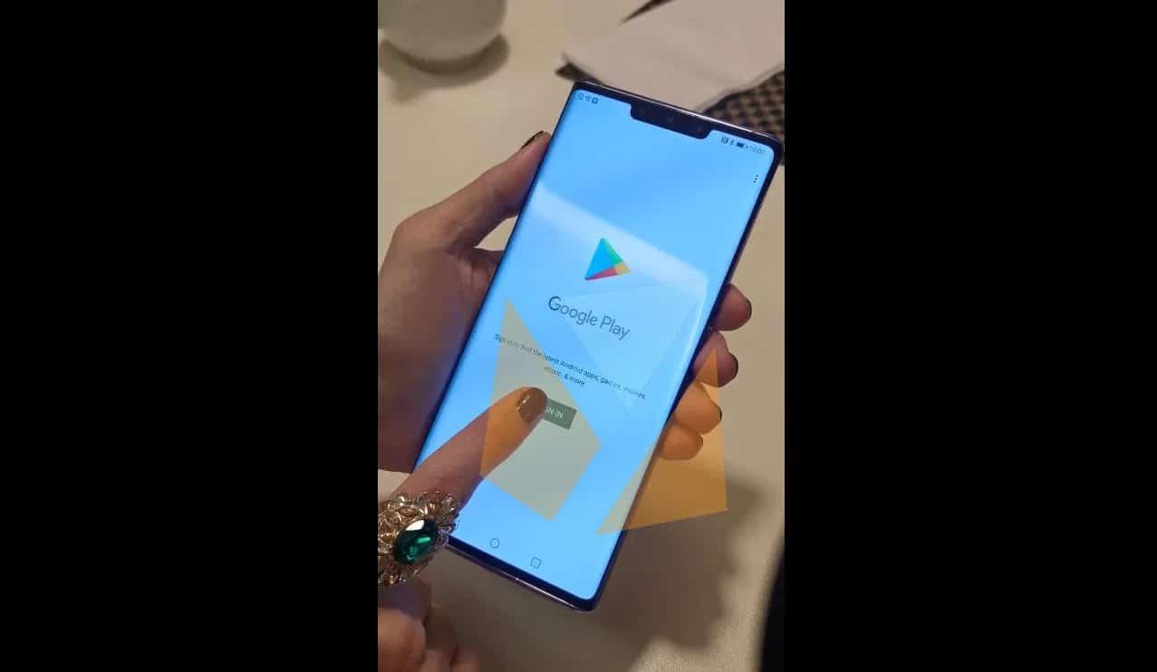 Das Bringen des Play Store zu Huawei Mate 30 dauert nur eine Minute! 2