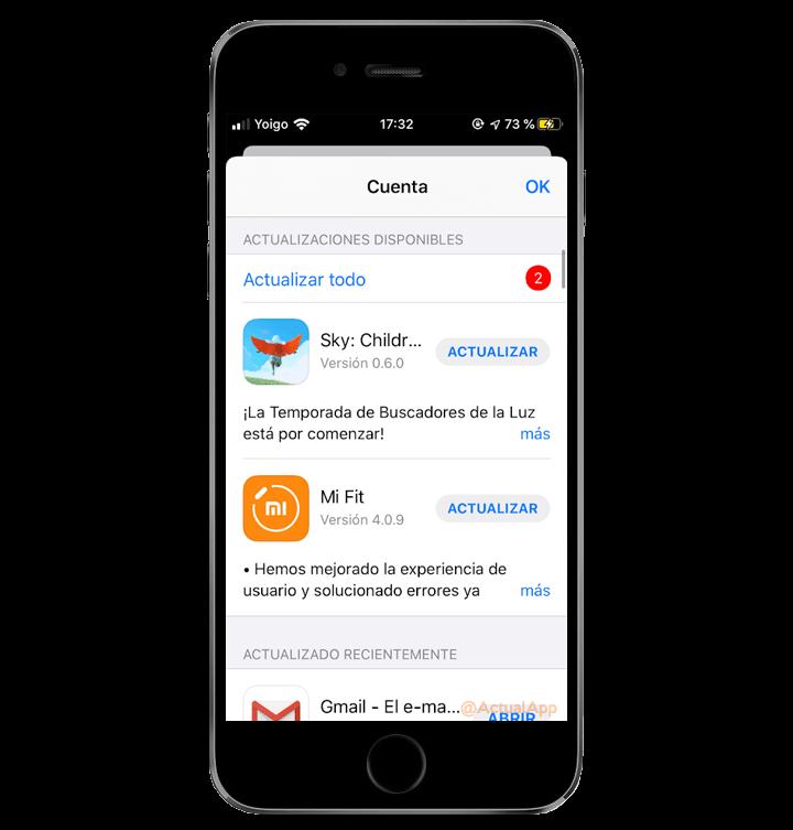 Како да ги ажурирате апликациите на iOS 13 чекор по чекор 2
