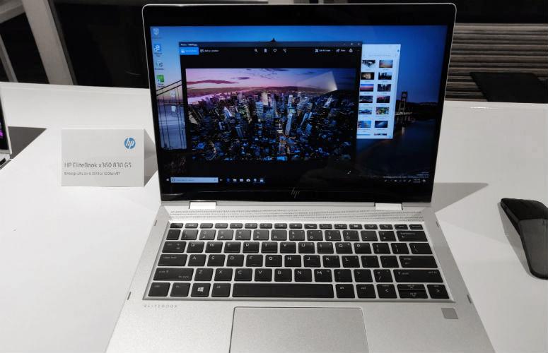 New EliteBook HP x360 830 G5 Adalah Sleek 2-in-1 dengan ...