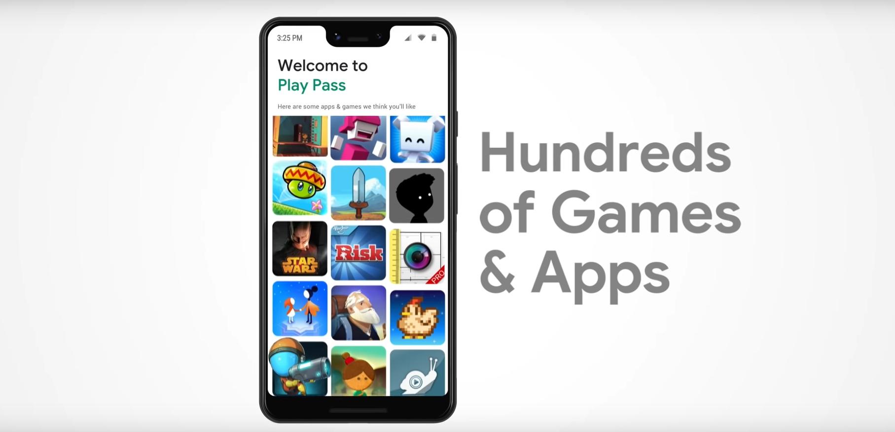Google Play Pass, đây là dịch vụ đăng ký cho các trò chơi và ứng dụng 2