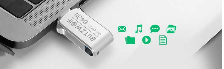 ▷ USB tipo C y USB 3.0, Conexión dual en memoria 64 GB + este cupón de descuento 3