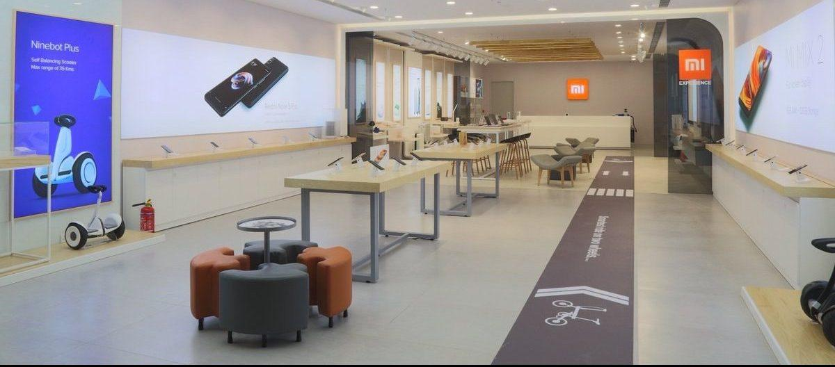 Xiaomi Mi mağazasını əhatə edin