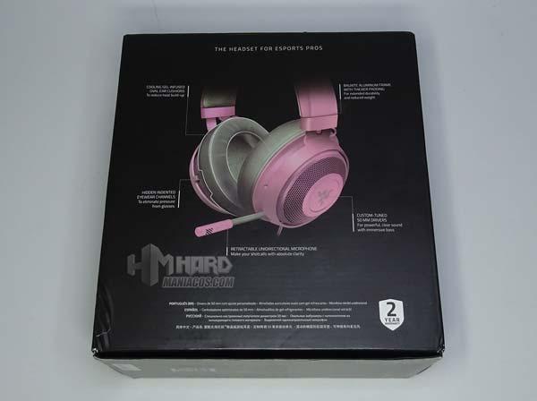 laatikko tai kypärän takana Razer Quartz Pink
