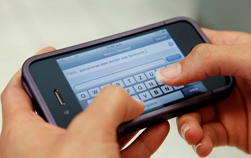4  aplicación para enviar mensajes sin conectarse a WiFi