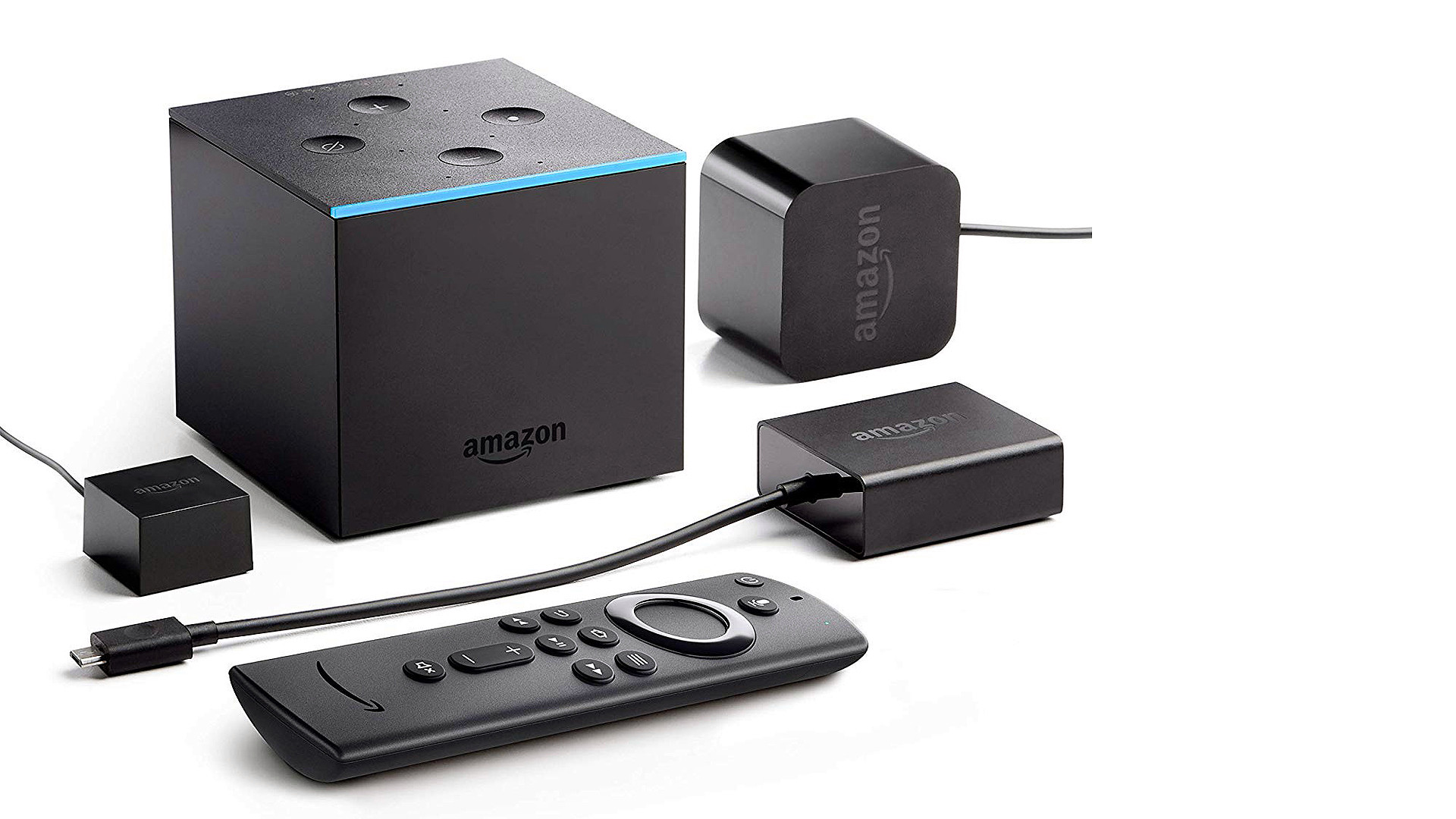 The  2019 Amazon Fire Cube también vino a Inglaterra