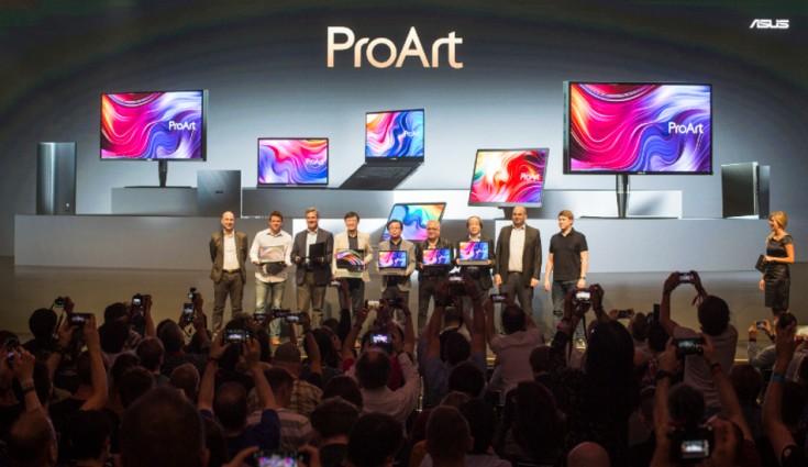 Asus mengumumkan seri ProArt, ASUSPRO B9, VivoWatch SP 1