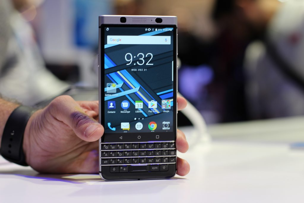 BlackBerry Mercury, tayangan pertama kami # CES2017 1