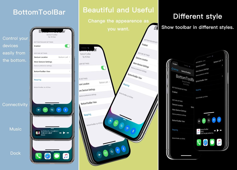 BottomToolBar le facilita el acceso a las funciones más importantes de su iPhone 2