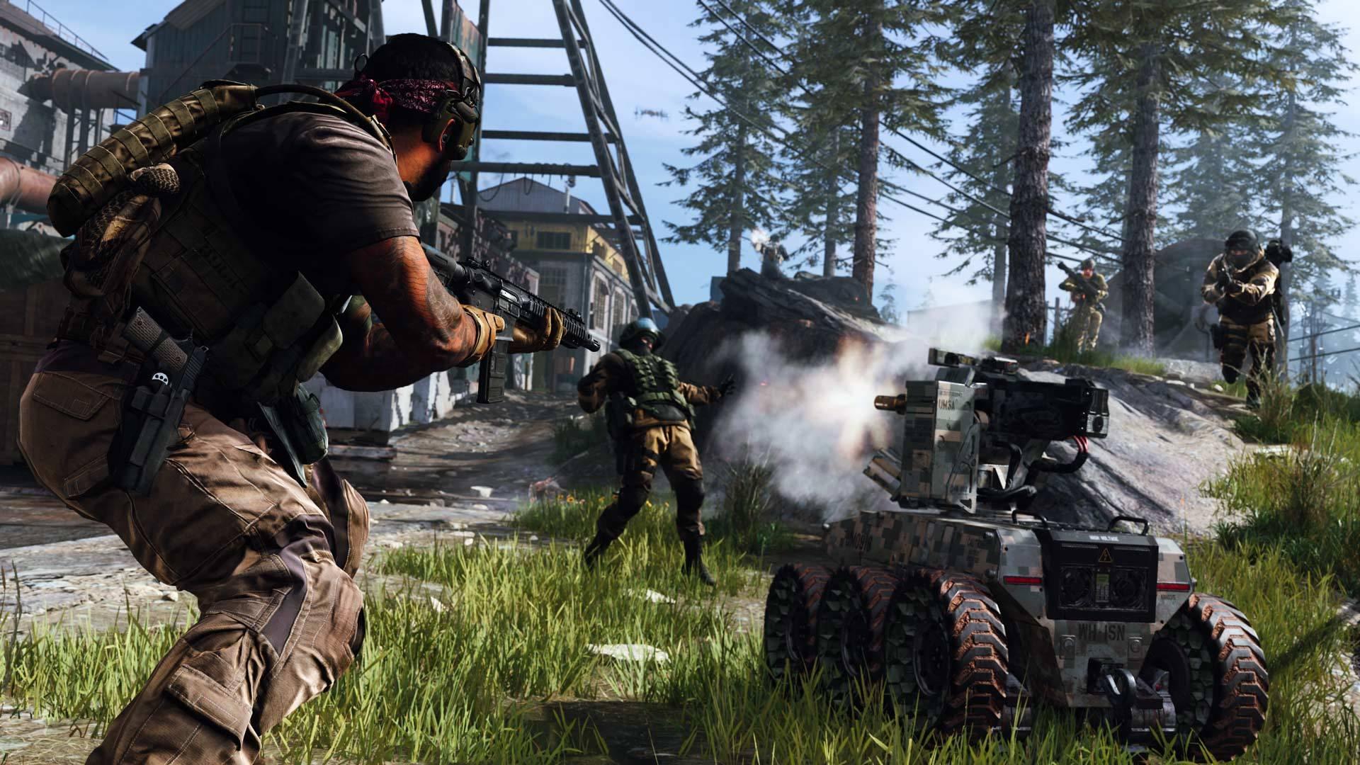 Call Of Duty Modern Cap Level Beta Warfare