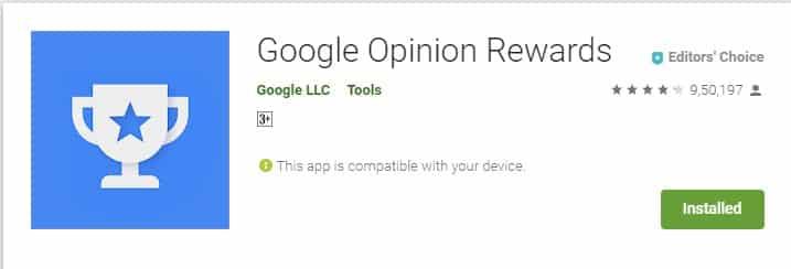 Google Görüş Ödülleri