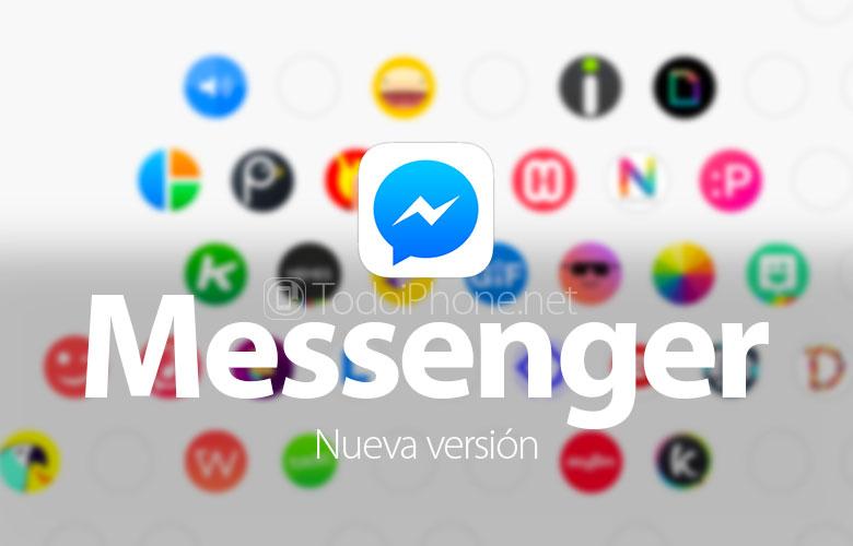 Facebook Messenger    indi GIF göndərmək və digər tətbiqlərdən istifadə etmək imkanı verir 2