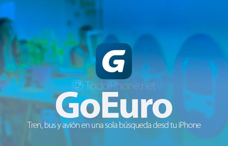 GoEuro, juna, bussi ja lentokone etsimällä iPhonestasi 2