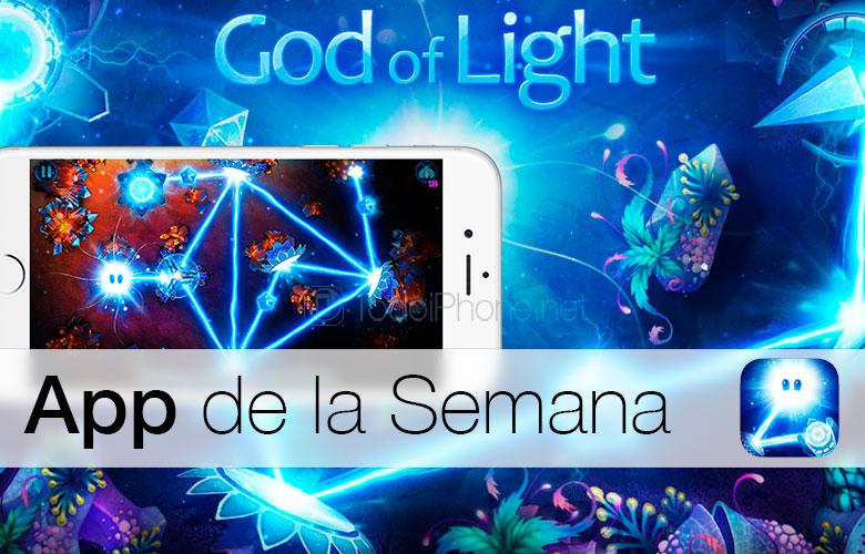 Бог на светлината - Апликација на Неделата на iTunes 2