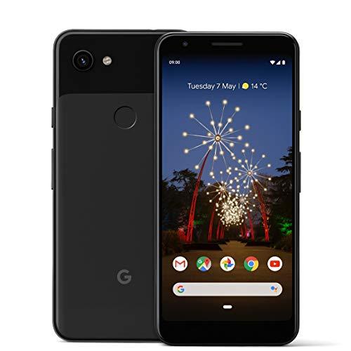 Google Pixel 3A 64 GB Teléfono inteligente Android 9.0 (3 A, solo negro)