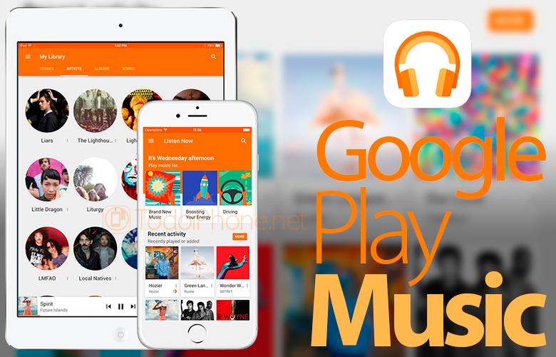 Google Play Musiikki tukee nyt iPadia 2