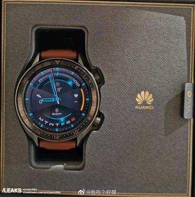 Huawei Watch GT 2: imagen original antes del lanzamiento 1