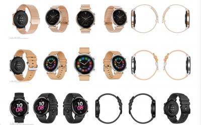 Huawei Watch GT 2: imagen original antes del lanzamiento 3