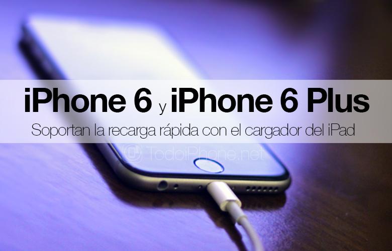 iphone 6 a iPhone 6 Okrem toho podporuje rýchle nabíjanie pomocou nabíjačiek iPad 2