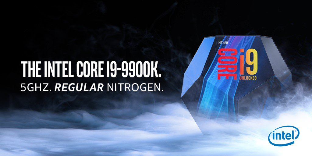 Intel Core i9 9900K se burla de los anuncios de AMD 0