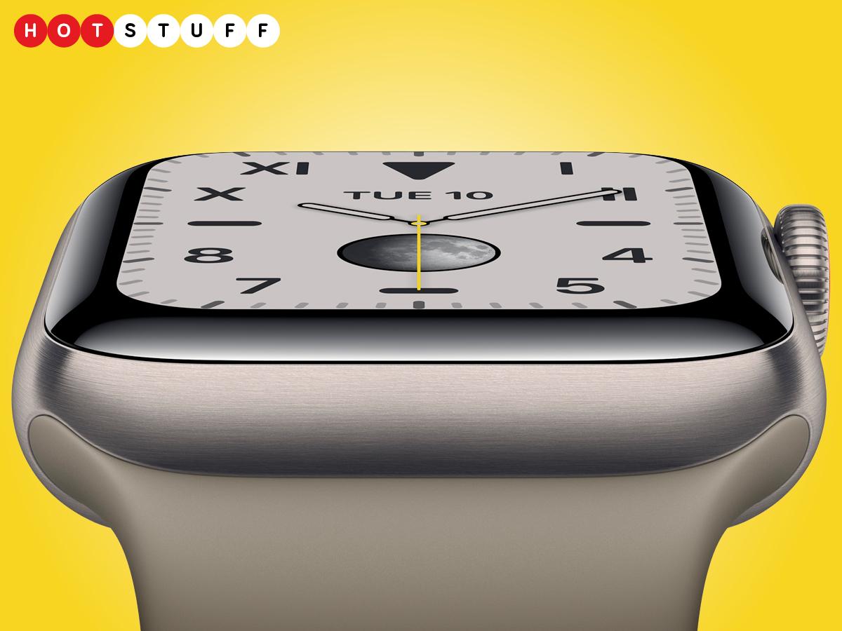 Kuin Apple Watch Sarja 5 on verkkokalvonäyttö, joka on aina päällä 1