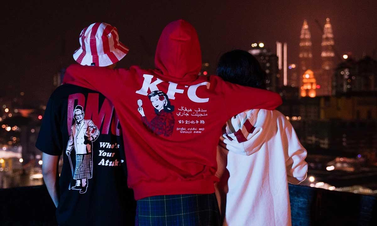 KFC Malaysia Meluncurkan Koleksi dengan Pestle & Mortar Clothing 1